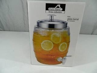 New Glass Drink Dispenser