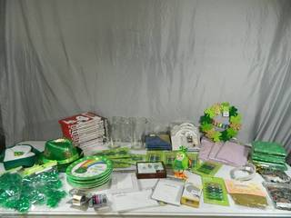 Huge Lot of New Party, Holiday, Household Items