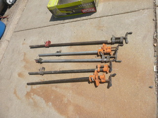 5 Adjustable Pipe Clamps