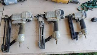 3  Porter Cable Nailers