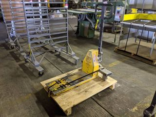 Pallet Mule Single Fork All American Pallet Jack