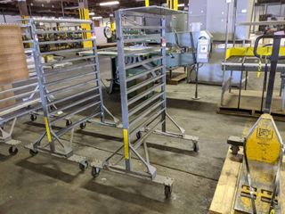 Akro Mills Mobile 2 Sided Hanging Bin Rack