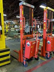 logitrans Interthor Pallet lift EHS 1000 1590 Capacity 2200 lBS