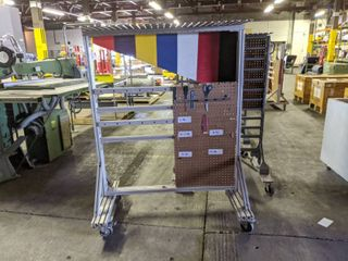 Akro Mills Mobile 2 Sided Tool Rack