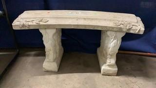 Concrete Bench 37x18