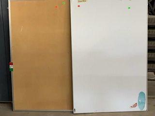White Board 31x48 And Corkboard