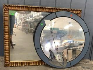 2 Mirrors 30 R. 38.5x31