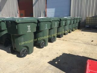 (10) 95 GAL CURBSIDE TOTER CARTS