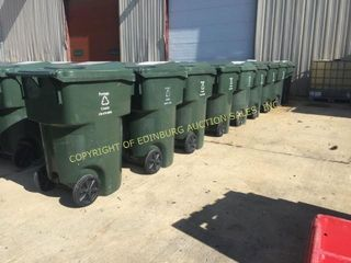 (9) 95 GAL CURBSIDE TOTER CARTS
