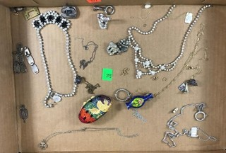 Flat Of Miscellaneous Jewelry And Jewelry Parts -