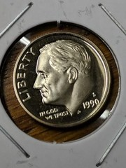 1990 s Cameo proof dime Roosevelt