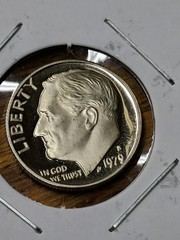 1979 s Cameo proof dime Roosevelt