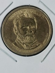 Ulysses S Grant presidential $1 US coin
