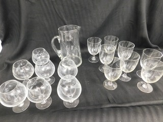 Etched Glass Drinkware