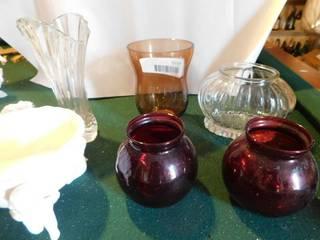 Flower Vase lot  4 ea
