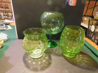 Decorator Vases  3 ea