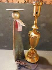 Candle Holder   Vintage lamp Base