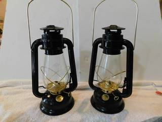 Oil lamps  2 ea