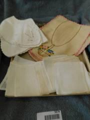 Vintage linen lot