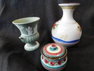Two Vases   Trinket Jar