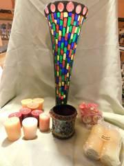 Decorative Vases  2    Candles