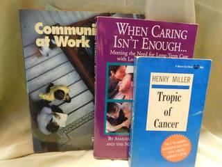 Self Help Books  3 ea