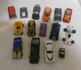 Miniature Auto   Racing Cars  15 ea