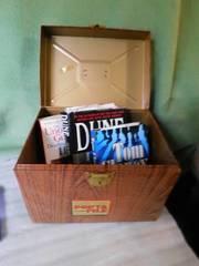File Cabinet   3 Books