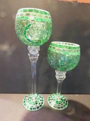 Decorative Goblets  2 ea