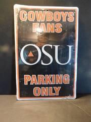 Oklahoma State Sign