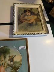 Framed Pictures  2 ea