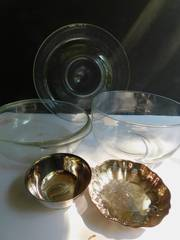 Serving Bowls   Silver Plated Dishes