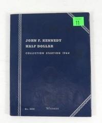 John F. Kennedy Half Dollar Blue Collection Book