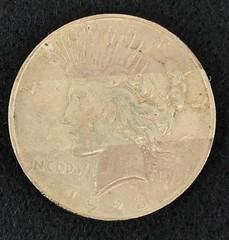 1923-d Silver Peace Dollar