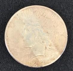 1923-s Silver Peace Dollar