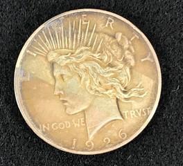 1926-d Silver Peace Dollar