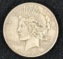 1935 Silver Peace Dollar