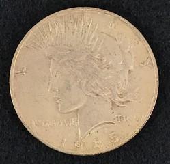 1935-s Silver Peace Dollar