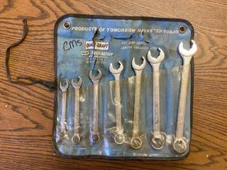 set of combination wrenches