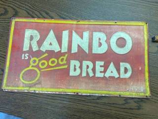 vintage bread sign