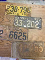 old automobile tags