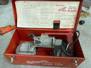 Milwaukee portable band saw
