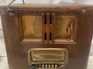 Montgomery Ward Tall Airline Airwave Loop Aerial Radio 15