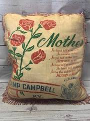 WWII US Army Sweetheart Pillow