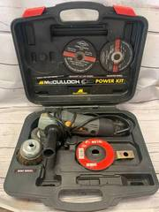 McCullough Power Grinder Kit (works great)