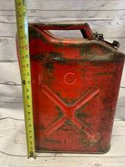 US Metal Jerry Gas Can
