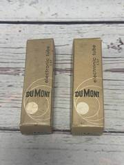 Lot of 2 Dumont 12AX7A Tubes (sold for $25 each on Ebay)