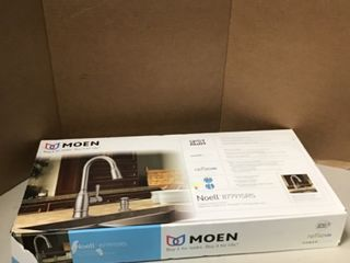 Noell 1-Handle Pull-Down Sprayer Kitchen Faucet with Reflex, Soap Dispenser and Power Clean in Spot Resist Stainless