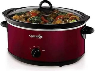 Crock Pot 7 qt  Slow Cooker  Red
