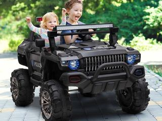 Aosom 12V 2 seat Ride On SUV Truck with Remote Control